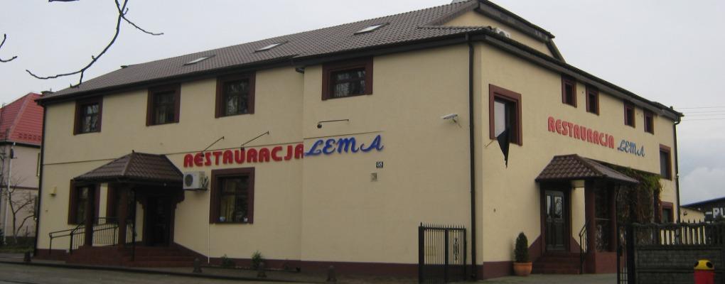 Lema w Miliczu. Widok od strony zalewu.